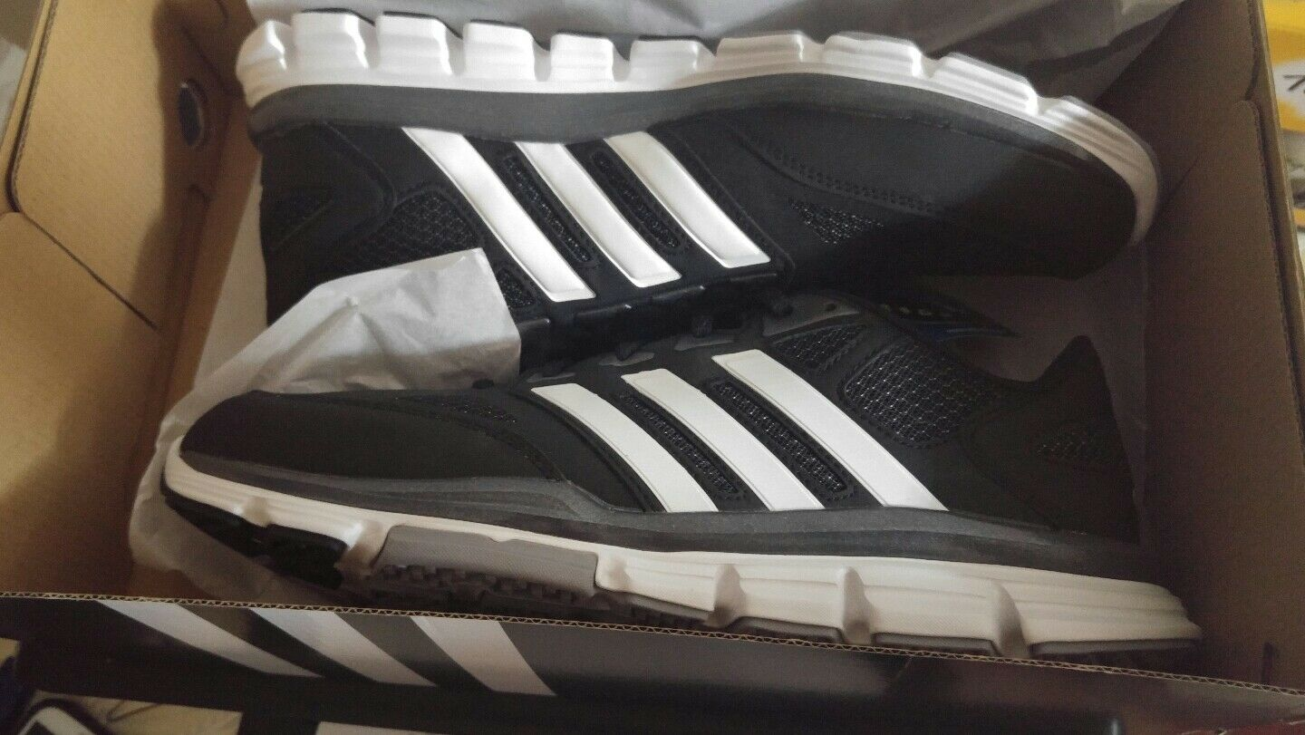 Adidas Speed Trainer Nero and white Uomo Size 9.5