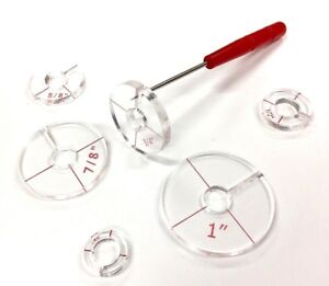 3 One with 2 Suction Cups and Two with Single Cup Ruler Handles Set of Three
