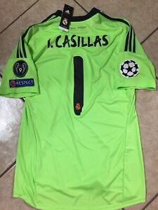 buy popular 2a0aa 6f586 Details about Spain Iker Casillas Fc Porto Real Madrid Football Adidas  Shirt Jersey Size XL