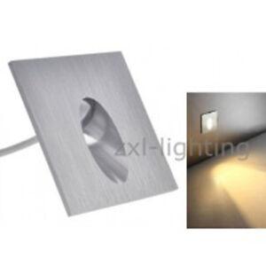 15 pcs 1w led encastrable mural lampe escalier couloir eclairage spot chaud 220v ebay. Black Bedroom Furniture Sets. Home Design Ideas