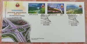 Malaysia-1999-XXI-World-Road-Congress-FDC