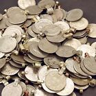 80 real COINS Tribal Belly Dance Kuchi LARGE ((standard unpolished))