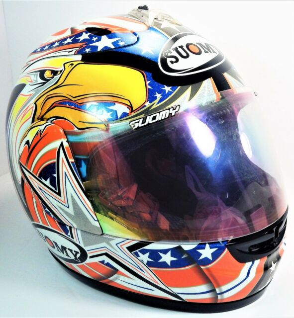 Suomy Bargy Design Spec 1r Extreme Motorcycle Helmet For Sale Online
