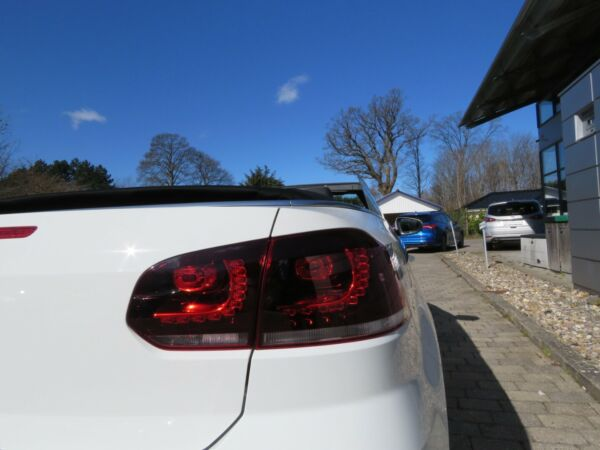 VW Golf VI 1,4 TSi 122 Cup Cabriolet - billede 5