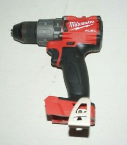 Milwaukee-2804-20-M18-FUEL-Brushless-Hammer-Drill-Driver-BARELY-USED