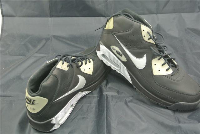 Nike AIR MAX Regno Unito 11 Nero/Argento Scarpe da Ginnastica Edizione Limitata classico RARO