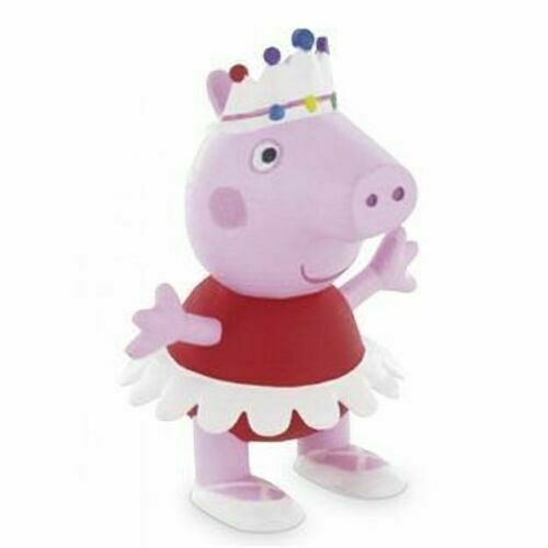Peppa Pig Spiel Figur Comansi George Rebecca Daddy Mummy Ballerina