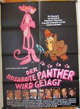 ROSAROTE PANTHER WIRD GEJAGT (Kinoplakat / Filmplakat '83) - PETER SELLERS