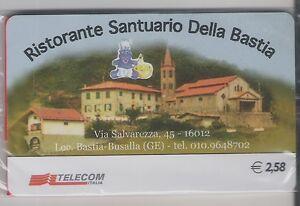 *@ Carta ALB./AZ. RISTORANTE DELLA BASTIA - € 2,58 - NUOVA in blister @* - Italia - *@ Carta ALB./AZ. RISTORANTE DELLA BASTIA - € 2,58 - NUOVA in blister @* - Italia