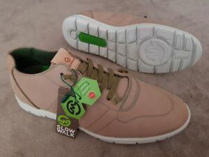 GemäßIgt Slowwalk Schuhe Größe 43 Morvi 10360 Nobuck Plain Taupe Echtleder Halbschuhe GroßE Sorten