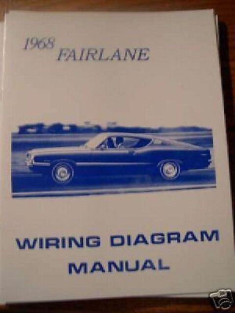 1968 Ford Fairlane Torino And Ranchero Wiring Diagram