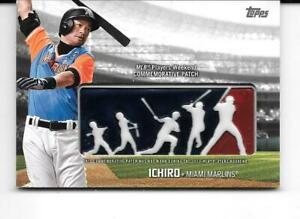 84db8db3 Image is loading 2018-Topps-ICHIRO-Miami-Marlins-MLB-Players-Weekend-