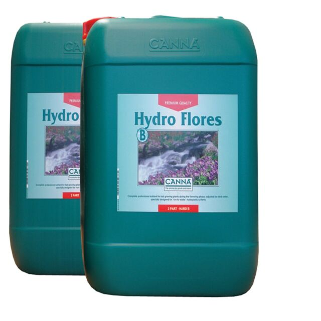 Canna Hydro Flores 10L HW Plus Choose Your Own Free Gift Free Next Day Delivery