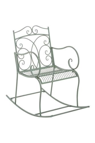 Schaukelstuhl EDITH Eisen Schwingsessel Gartenstuhl Metallstuhl Gartenmöbel