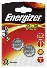 2 x Energizer CR 2450 Batterie Knopfzelle  CR2450 Lithium 620 mAh 3V Blister NEU