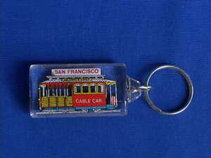 San Francisco Key Chain Souvenir -  San Francisco Cable Car Key Chain