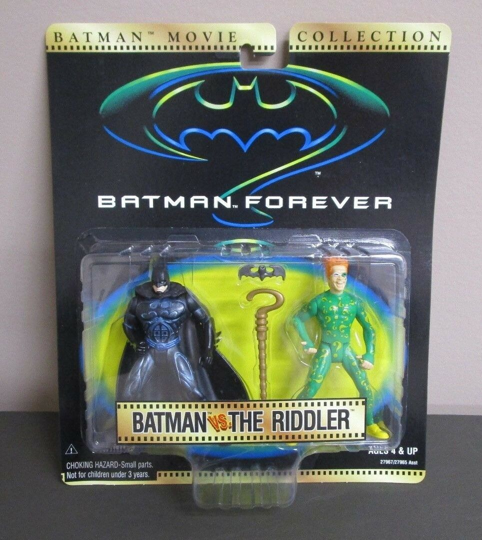 Batuomo vs The Riddler 1997 BATuomo FOREVER Movie Collection Kenner Kenner Kenner MOC fe62da