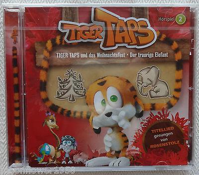 CD Tiger Taps und das Weihnachtsfest & Der traurige Elefant Hörspiel Rosenstolz