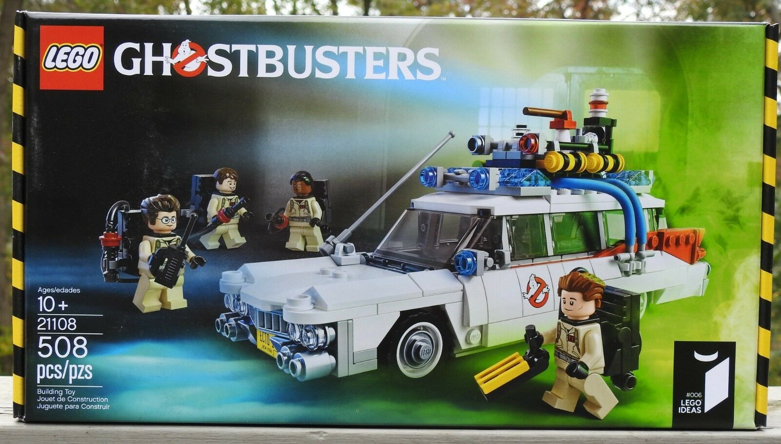 Brand NEW Sealed LEGO Ghostbusters Ecto-1 21108 - Retirosso Dated 2014