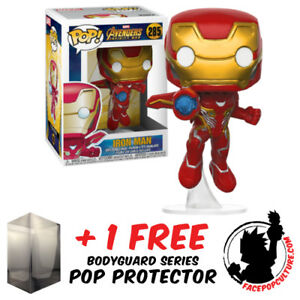 FUNKO-POP-MARVEL-AVENGERS-INFINITY-WAR-IRON-MAN-WITH-WINGS-FREE-POP-PROTECTOR