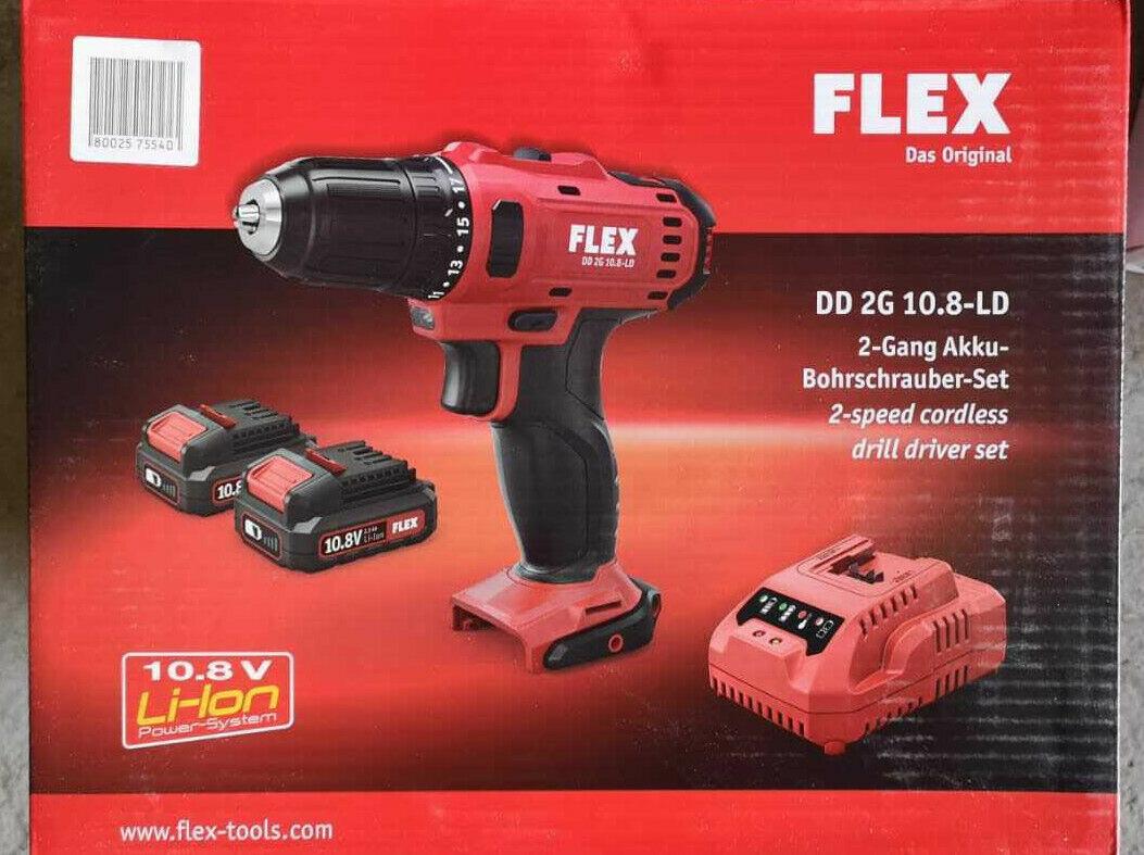 Flex Akku-Bohrschrauber DD 2G 10.8-LD