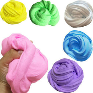 Colorful-Fluffy-Floam-Slime-Scented-Stress-Relief-No-Borax-Kid-Release-Clay-Toy