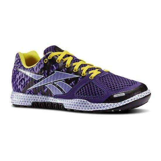 REEBOK CROSSFIT PURPLE RUNNING TRAINING SHOES WOMENS SIZE 7.5