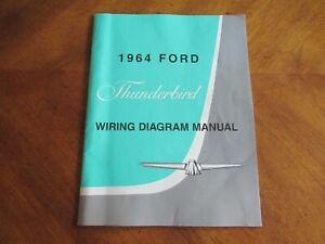 Wiring Diagram for 1964 Ford Thunderbird Manual 2010 ...