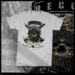Military Stealth Sicario Assassin T-Shirt Pablo Escobar El Chapo Sinaloa Cartel
