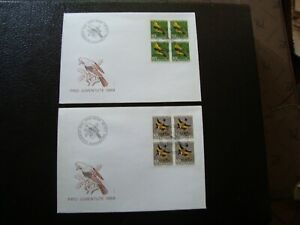 Switzerland-2-Envelopes-1er-Day-1-12-1969-B18
