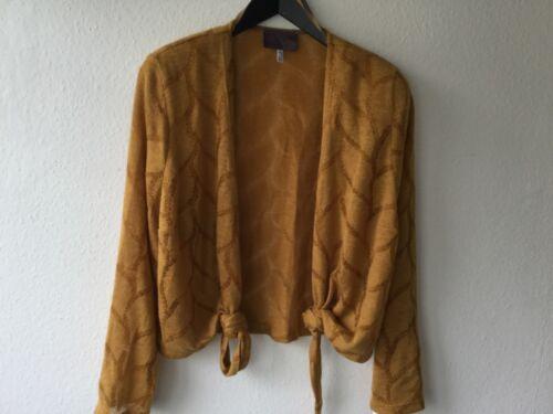 In Ockergelb Piu Sempre Strickjacke Neu Damen Jacke By Chalou Gr48 zVSqUMpG