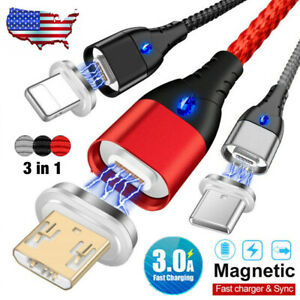 Type-C-Micro-USB-IOS-3in1-Magnetic-Fast-Charging-Cable-To-Android-Samsung-iPhone