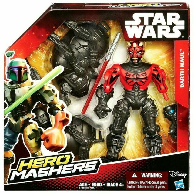 """Star Wars Deluxe Hero Mashers Hasbro The Force Awakens New 6/"""" Action Figure Toy"""