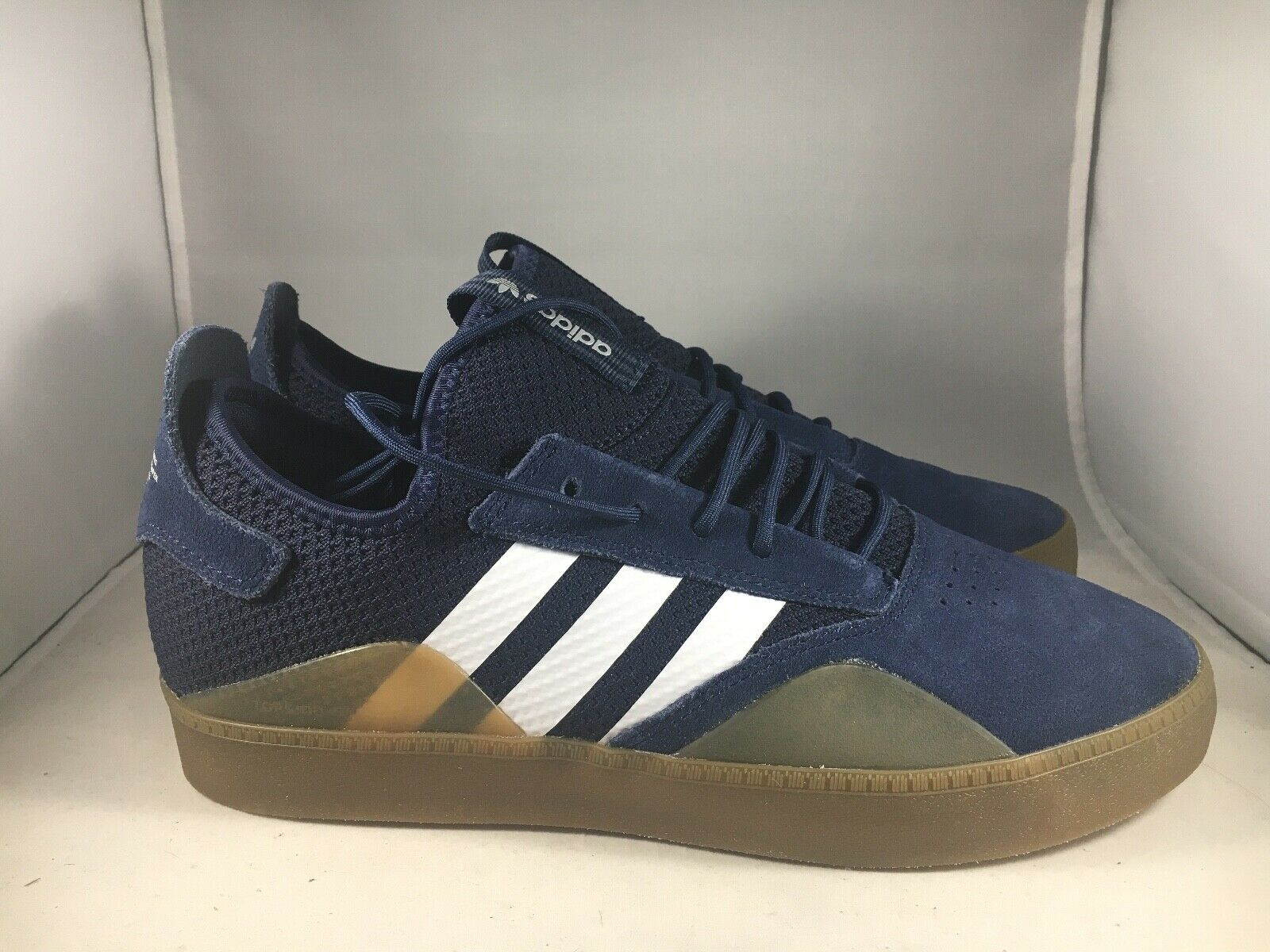 Adidas Originals Navy 3ST.001 shoes Size B41776