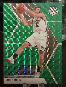 Joe-Harris-2019-20-panini-mosaic-Green-Prizm-basketball