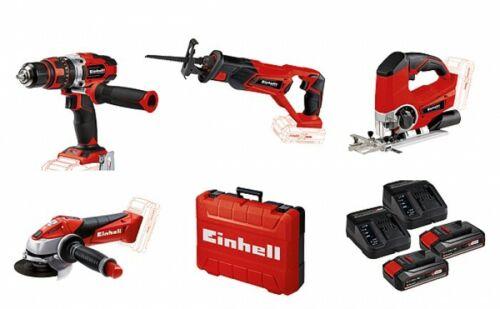 2 Starter-KIT Nadlinger Einhell Power SET 4 Werkzeuge 1 Koffer