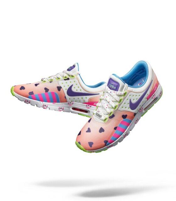 reputable site 7ba8f fd8fa Women s Nike Air Max Zero Doernbecher GS Barely Orng Hypr Grape Sz.5 (898638