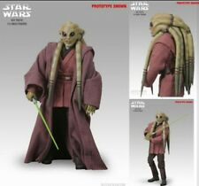 Sideshow exclusive Star Wars Kit Fisto 1/6 figure hot toys complete great shape