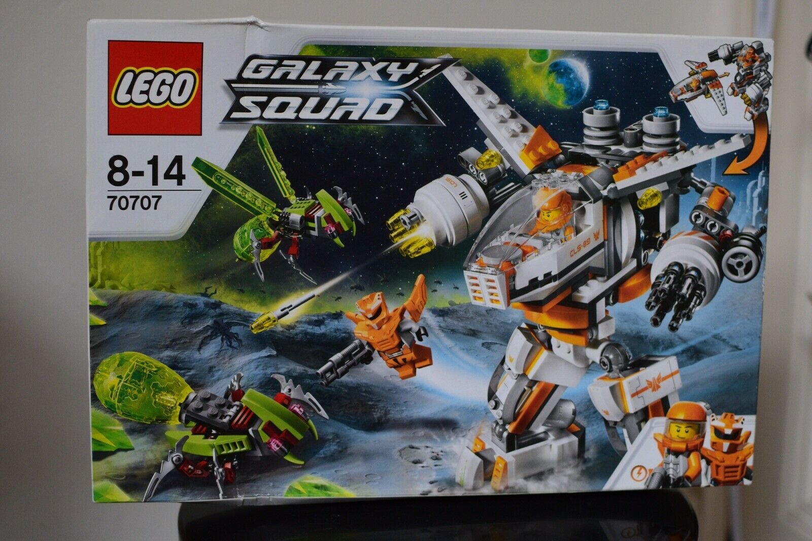 LEGO Galaxy Squad 70707  CLS-89 ERADICATOR BRAND NEW SEALED ACTUAL TOY PHOTOS