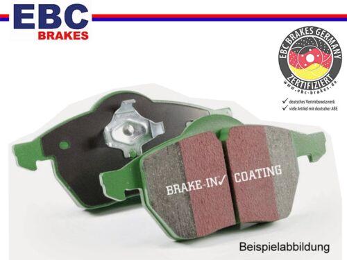 EBC greenstuff Sport-pastillas de freno delantero para mazda//dp21794