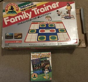 Famicom-Bandai-Family-Fitness-Trainer-In-Box-With-Athletic-World