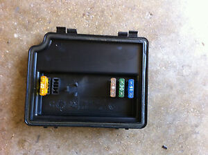 bmw engine bay fuse box cover and spare fuses oem e38 740 750 7 image is loading bmw engine bay fuse box cover and spare