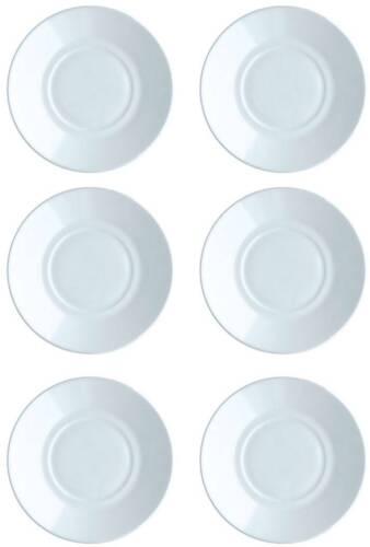 Tous les Jours Verre de Opale Arcoroc Assiette Coupes Coquilles Gobelet au Choix