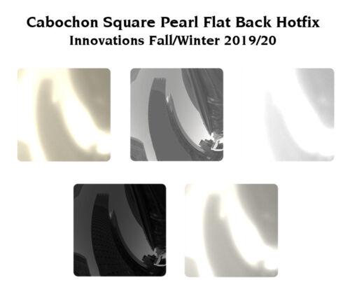 Original SWAROVSKI 2408//4 Cabochon Square Strass Steine Hotfix Kristallen