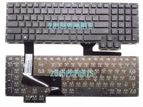 New Original Asus G750JX G750JX-DB71 G750JX-RB71 Keyboard US No Backlit Board