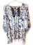 New-One-World-Womens-Printed-Knit-3-4-Ruffle-Elbow-Pleated-Blouse-Top-1x-54 thumbnail 1