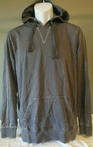 Men's Hoodie Sweatshirt Warm Soft Gray Young Men's Route 66 S Small NWT $25