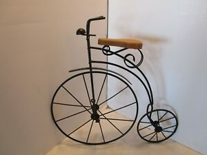 Image Is Loading Vintage Bicycle Wall Art Black Metal Lasting Products