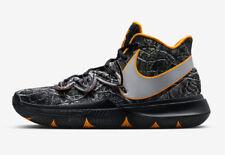 8b531a6ff46b Nike Kyrie Irving 5 GS Sz 7y Taco TV Black Orange PE Aq2456-902 NWB ...