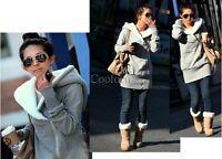 Hot Womens Long Sleeve Zip Up Tops Hoodie Coat Jacket Outerwear Sweatshirt